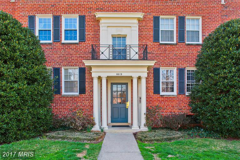 garden-style condos at 6613 Potomac Ave #B1, Alexandria 22307