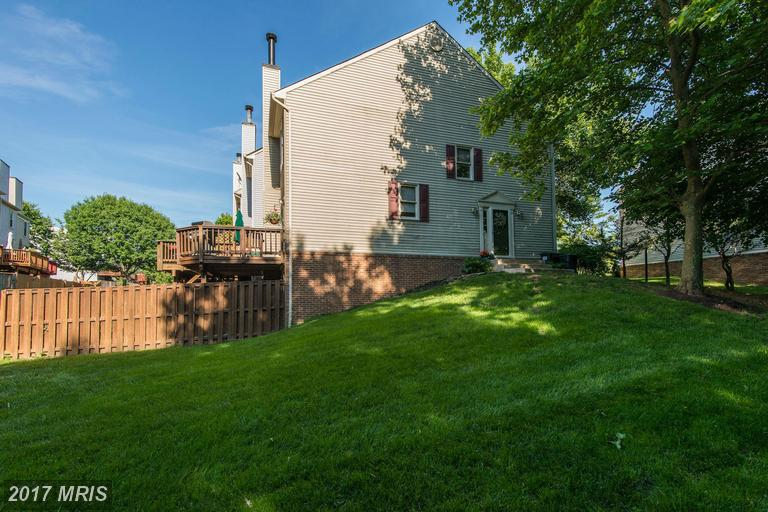 townhouses at 7210 Lensfield Ct, Alexandria 22315