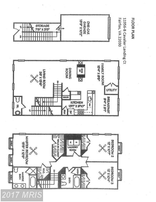 townhouses at 11596b Cavalier Landing Ct #703-B, Fairfax 22030
