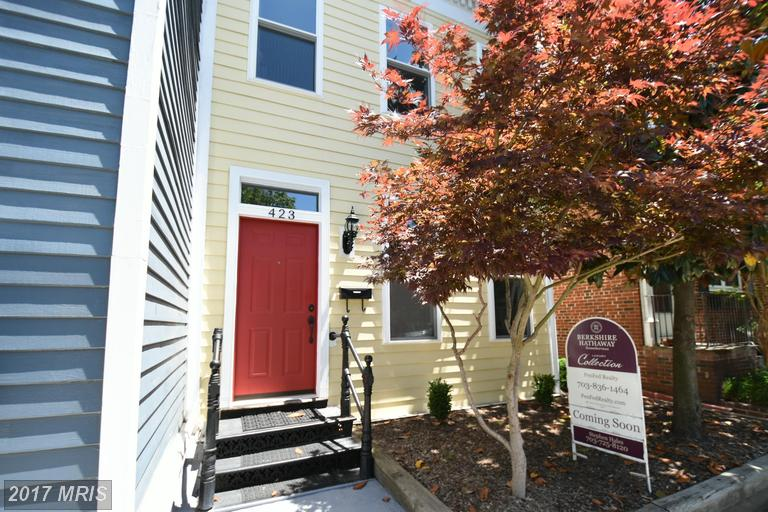 townhouses at 423 Patrick St N, Alexandria 22314
