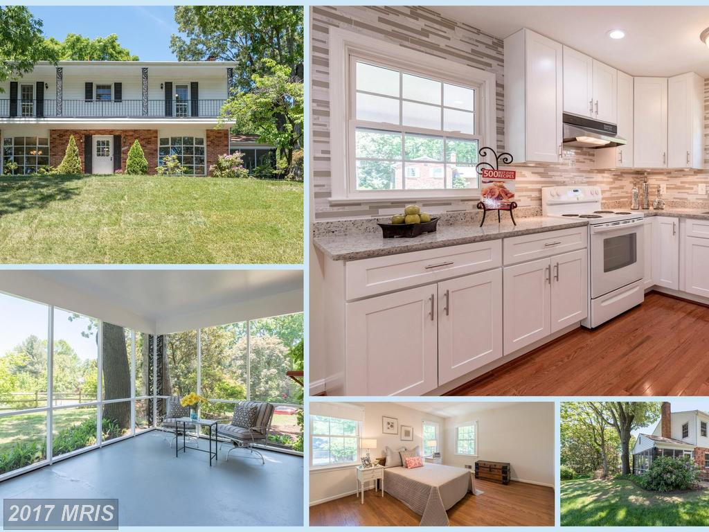 Beautifully Renovated Colonial Home with Hardwoods on 2 levels at Varsity Park in Annandale thumbnail