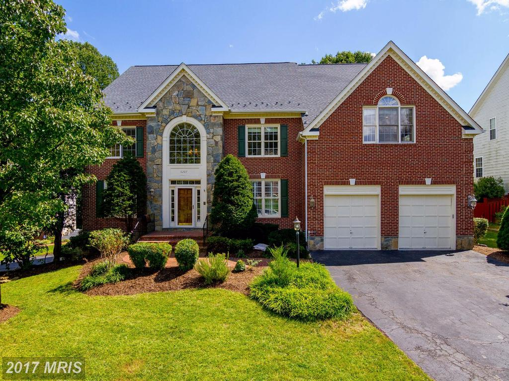 French Provincial home with over 6,000 sq.ft.  Located on a cul-de-sac at Barcroft Forest in Alexandria thumbnail
