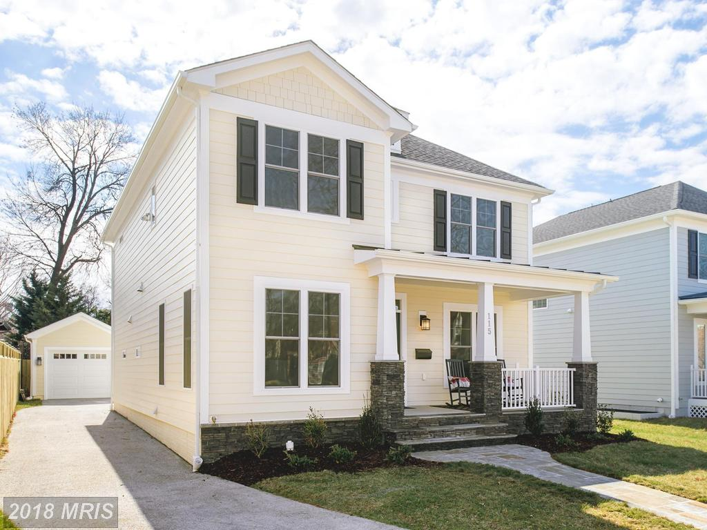 $1,399,995 For 4 BR / 4 BA Newly-Built Del Ray Craftsman In Alexandria thumbnail