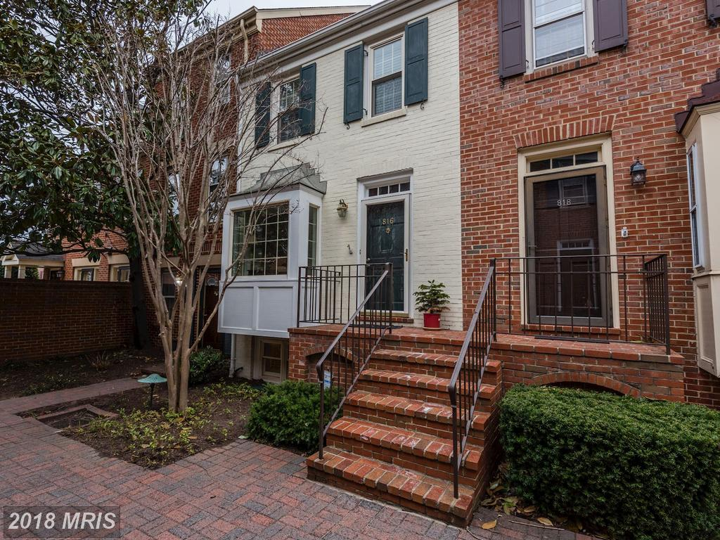 Julie Nesbitt: Remember This If You're Shopping $725,000 3-bedroom Colonial-style Townhouses Like 816 Bashford Ln In 22314 thumbnail