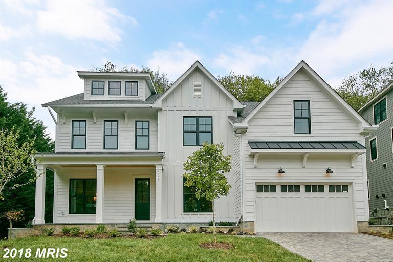 Newly-built Newly-built Farm House-style Home Listed For Sale In Arlington, Virginia thumbnail
