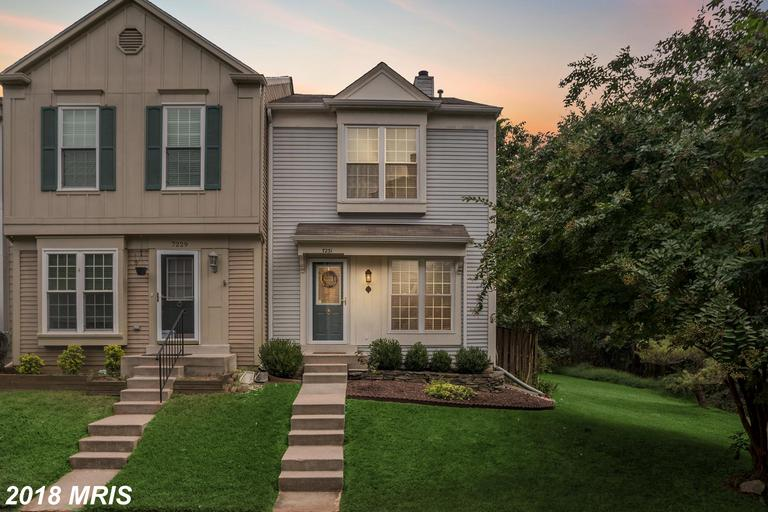 Reasonably Price $374,900 Traditional-Style Townhouse  ::  7231 Stover Ct Alexandria VA 22306 thumbnail