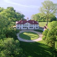 Mount Vernon, George Washington's estate on the Potomac