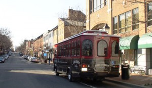 trolley at King Street