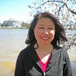 Julie at Potomac River