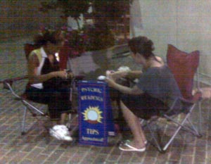 Fortune Teller at waterfront