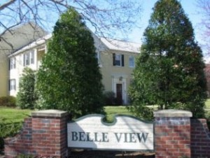 Belle View sign