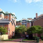 View of the Colecroft townhouse condos