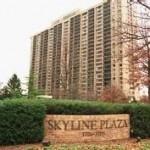 Where is Skyline Plaza in Falls Church VA?