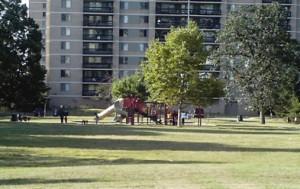 Skyline Square playground