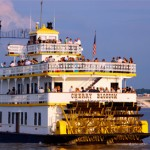 "The ""Cherry Blossom"" sternwheeler on the Potomac"