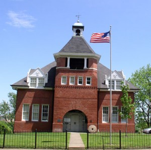 The historic Hume School in Arlington VA
