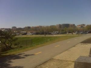 Bike Path on GW Parkway