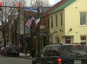 late winter in Old Town