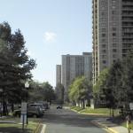 bordering street