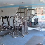 Fitness room at the Huntington Club