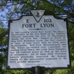 Historic plaque at Fort Lyon