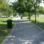 Founders' Park pathway