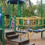 Fort Scott Park playground equipment
