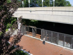 Huntington Club is near Huntington Metro, shown here