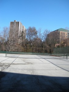 Olympus, tennis courts