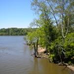 Fishing the Potomac R. near Little Hunting Creek