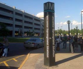 Franconia Springfield Metro