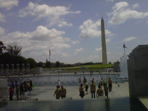 Washington Monument in Washington DC