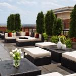 rooftop garden at the Jamieson condos