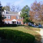The brick style colonial homes of Fairlington