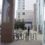 bike rack at Fashion Centre