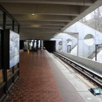 inside Huntington Metro Station