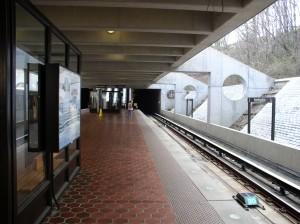 inside Huntington Metro Station