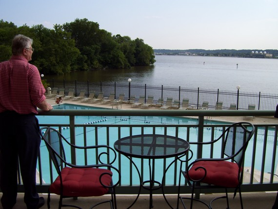 pool on the Potomac