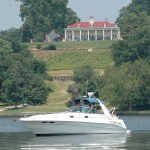 boat on Potomac River