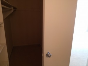 Closet Connected to Bathroom at Park Place