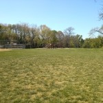 A play ground at Jefferson Manor Park
