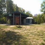 A pavilion at Jefferson Manor Park