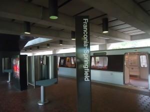Inside the Franconia Station