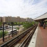 platform at Metro