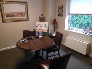 Inside the Consultation Room at Nesbitt Realty