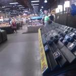 Inside of Wegman's is a very large grocery