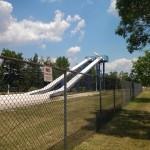 Another set of slides at Cameron Run Park