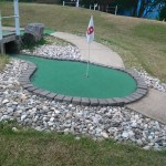 Enjoy a round of putt putt at Cameron Run Park