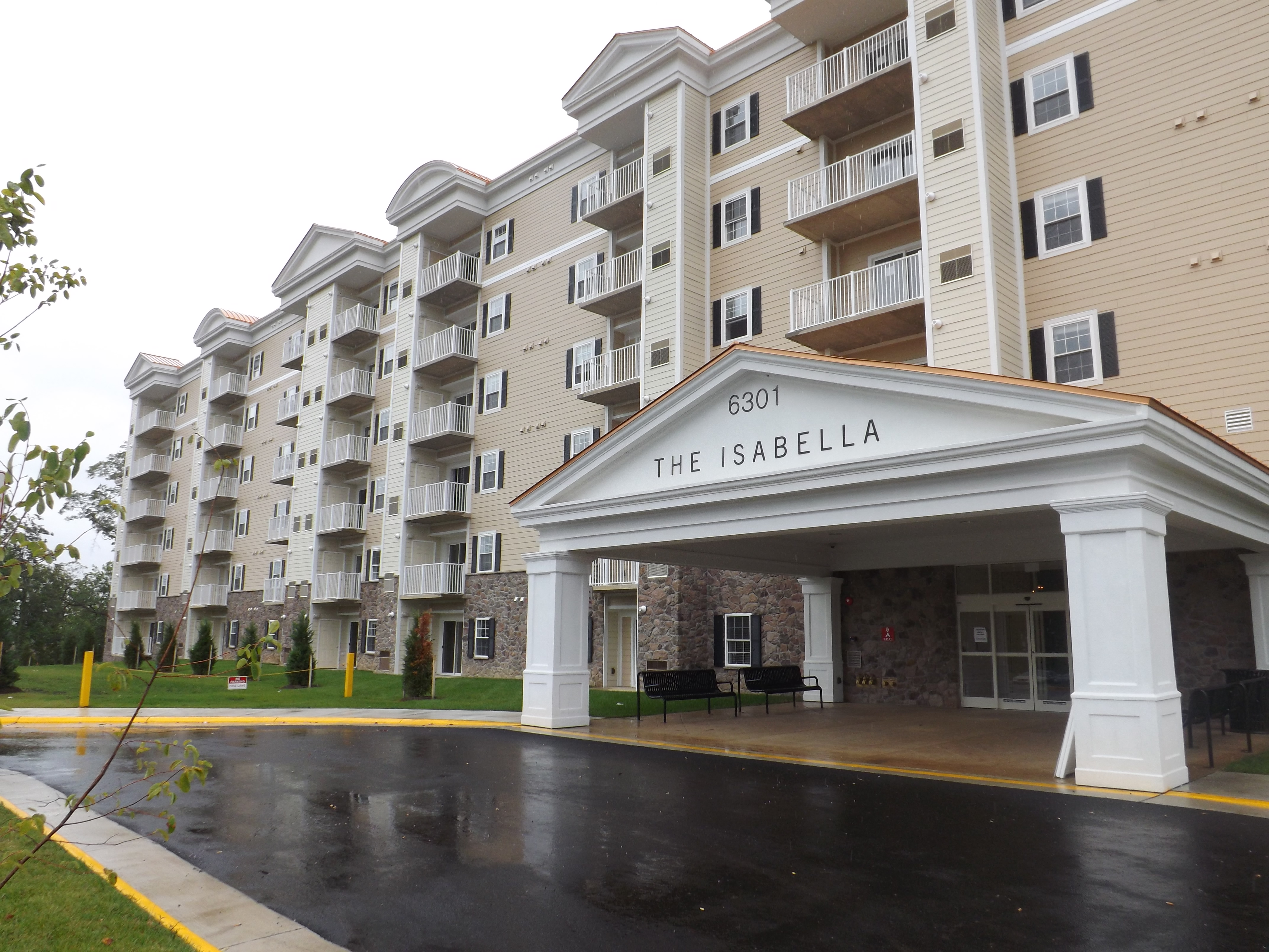 The Isabella has expansive balconies in all units
