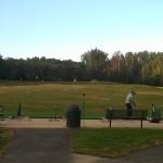 Golfers swing away at Hilltop Golf
